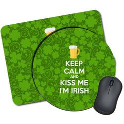 Kiss Me I'm Irish Mouse Pads (Personalized)