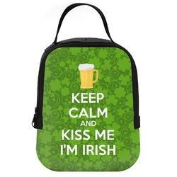 Kiss Me I'm Irish Neoprene Lunch Tote (Personalized)