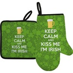 Kiss Me I'm Irish Oven Mitt & Pot Holder (Personalized)