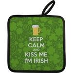 Kiss Me I'm Irish Pot Holder