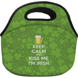 Kiss Me I'm Irish Lunch Bag (Personalized)