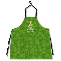 Kiss Me I'm Irish Apron Without Pockets