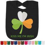Kiss Me I'm Irish Bib - Select Color (Personalized)