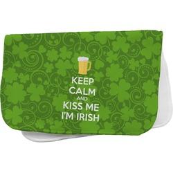 Kiss Me I'm Irish Burp Cloth (Personalized)