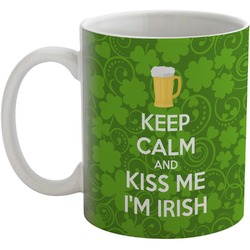 Kiss Me I'm Irish Coffee Mug (Personalized)
