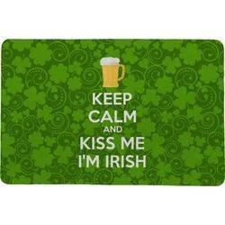 Kiss Me I'm Irish Comfort Mat (Personalized)