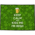 Kiss Me I'm Irish Door Mat (Personalized)