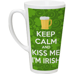 Kiss Me I'm Irish Latte Mug (Personalized)