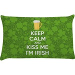 Kiss Me I'm Irish Pillow Case (Personalized)