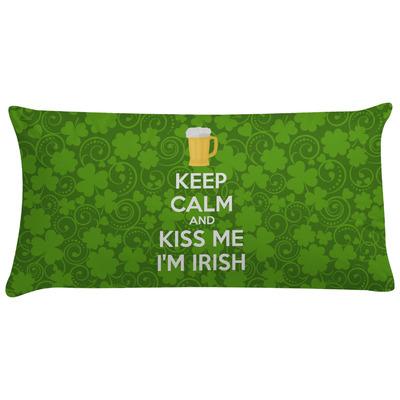 Kiss Me I'm Irish Pillow Case (Personalized)