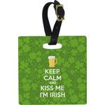 Kiss Me I'm Irish Luggage Tags (Personalized)