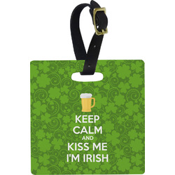 Kiss Me I'm Irish Luggage Tags (Personalized)