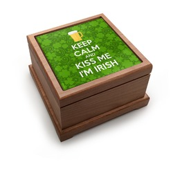 Kiss Me I'm Irish Pet Urn (Personalized)