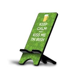 Kiss Me I'm Irish Phone Stand (Personalized)