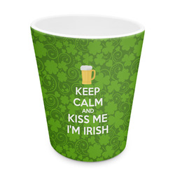 Kiss Me I'm Irish Plastic Tumbler 6oz (Personalized)