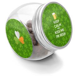 Kiss Me I'm Irish Puppy Treat Jar (Personalized)