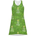 Kiss Me I'm Irish Racerback Dress (Personalized)