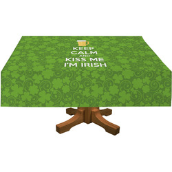 Kiss Me I'm Irish Tablecloth (Personalized)