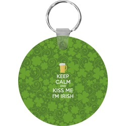 Kiss Me I'm Irish Keychains - FRP (Personalized)