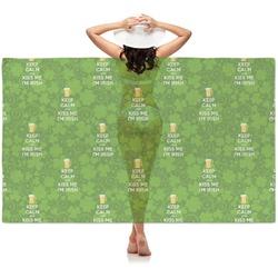 Kiss Me I'm Irish Sheer Sarong (Personalized)
