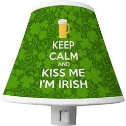 Kiss Me I'm Irish Shade Night Light (Personalized)