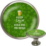 Kiss Me I'm Irish Cabinet Knobs (Personalized)