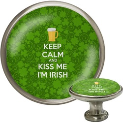 Kiss Me I'm Irish Cabinet Knobs (Personalized)