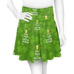 Kiss Me I'm Irish Skater Skirt (Personalized)