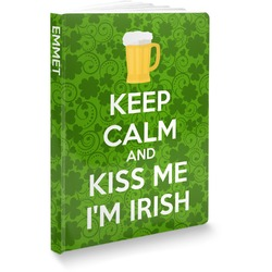 Kiss Me I'm Irish Softbound Notebook (Personalized)