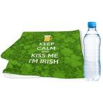 Kiss Me I'm Irish Sports & Fitness Towel (Personalized)