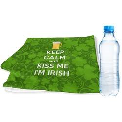 Kiss Me I'm Irish Sports Towel (Personalized)