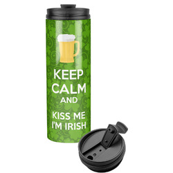 Kiss Me I'm Irish Stainless Steel Tumbler (Personalized)