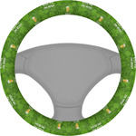 Kiss Me I'm Irish Steering Wheel Cover (Personalized)