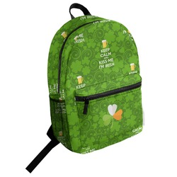 Kiss Me I'm Irish Student Backpack (Personalized)