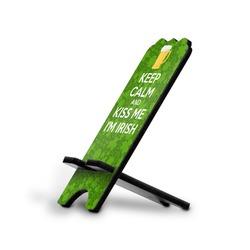 Kiss Me I'm Irish Stylized Phone Stand (Personalized)