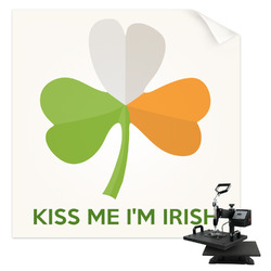 Kiss Me I'm Irish Sublimation Transfer (Personalized)