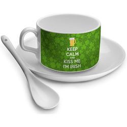 Kiss Me I'm Irish Tea Cups (Personalized)