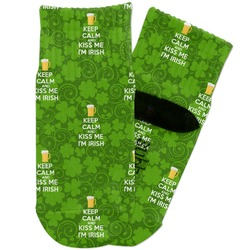 Kiss Me I'm Irish Toddler Ankle Socks (Personalized)