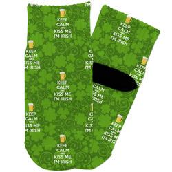 Kiss Me I'm Irish Toddler Ankle Socks (Personalized)