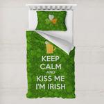 Kiss Me I'm Irish Toddler Bedding