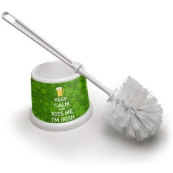 Kiss Me I'm Irish Toilet Brush (Personalized)