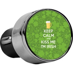 Kiss Me I'm Irish USB Car Charger (Personalized)