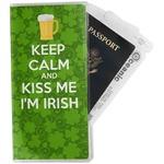 Kiss Me I'm Irish Travel Document Holder