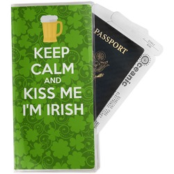Kiss Me I'm Irish Travel Document Holder