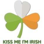 Kiss Me I'm Irish Graphic Decal - Custom Sizes (Personalized)