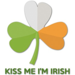 Kiss Me I'm Irish Graphic Decal - Custom Sizes (Personalized)