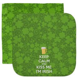 Kiss Me I'm Irish Facecloth / Wash Cloth (Personalized)