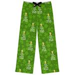 Kiss Me I'm Irish Womens Pajama Pants (Personalized)