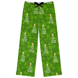 Kiss Me I'm Irish Womens Pajama Pants (Personalized)