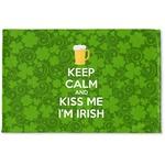Kiss Me I'm Irish Woven Mat (Personalized)